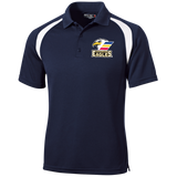 Colorado Eagles Moisture Wicking Tag Free Polo