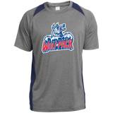 Hartford Wolf Pack Primary Logo Youth Colorblock Performance T-Shirt