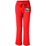 Charlotte Checkers Women's Open Bottom Sweatpants with Pockets