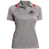 Rockford IceHogs Ladies' Heather Moisture Wicking Polo