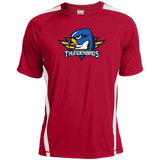 Springfield Thunderbirds Primary Logo Colorblock Dry Zone Crew