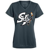 San Jose Barracuda Primary Logo Ladies' Wicking T-Shirt