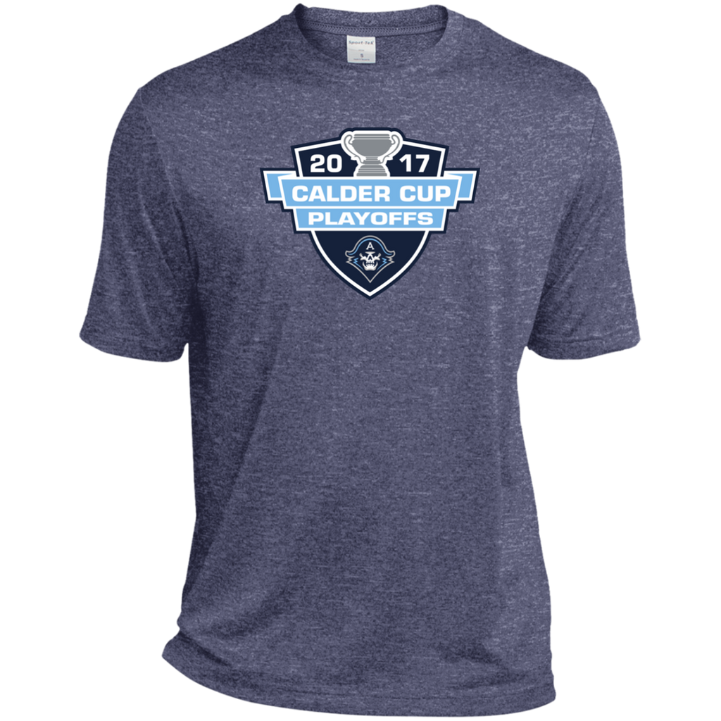 Milwaukee Admirals 2017 Calder Cup Playoffs Adult Heather Dri-Fit Moisture-Wicking T-Shirt