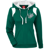 Iowa Wild Team 365 Ladies' Colorblock Poly Hoodie