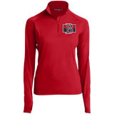 Belleville Senators Women's 1/2 Zip Performance Pullover