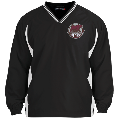 Hershey Bears Adult Tipped VNeck Wind Shirt