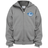 Syracuse Crunch Youth Embroidered Full Zip Hoodie