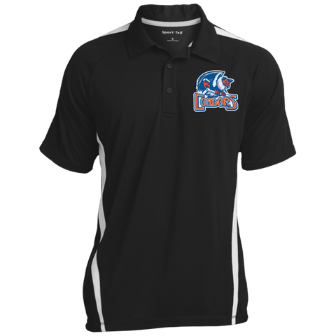 Bakersfield Condors Men's Colorblock 3-Button Polo