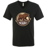 Hershey Bears Men's Next Level Triblend V-Neck Tee