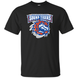 Bridgeport Sound Tigers Primary Logo Adult Short Sleeve T-Shirt