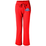 Rochester Americans Women's Open Bottom Sweatpants with Pockets