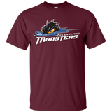 Cleveland Monsters Primary Logo Youth Short Sleeve T-Shirt
