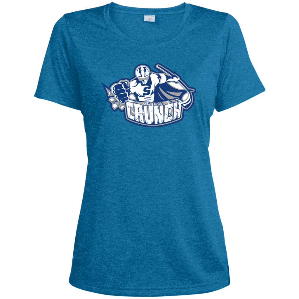Syracuse Crunch Ladies Heather Dri-Fit Moisture-Wicking T-Shirt (sidewalk sale)