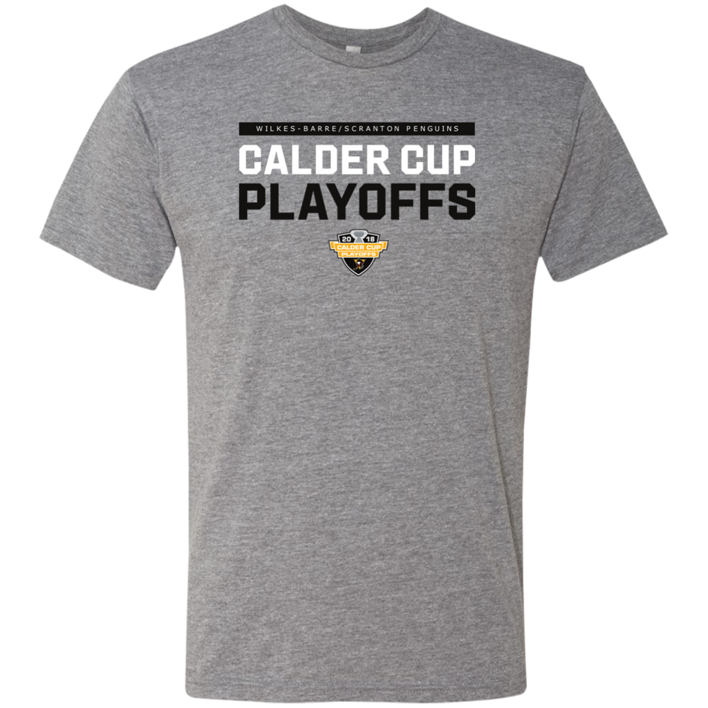 Wilkes-Barre/Scranton Penguins 2018 Postseason Next Level Men's Triblend T-Shirt