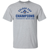 Toronto Marlies 2018 Calder Cup Champions Youth Arch Cotton T-Shirt