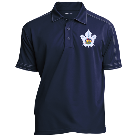 Toronto Marlies Adult Contrast Stitch Performance Polo