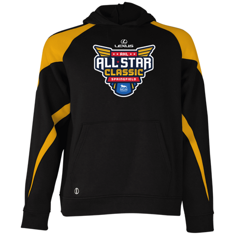 2019 AHL All Star Classic Primary Logo Youth Colorblock Hoodie