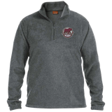 Hershey Bears Adult Embroidered 1/4 Zip Fleece Pullover