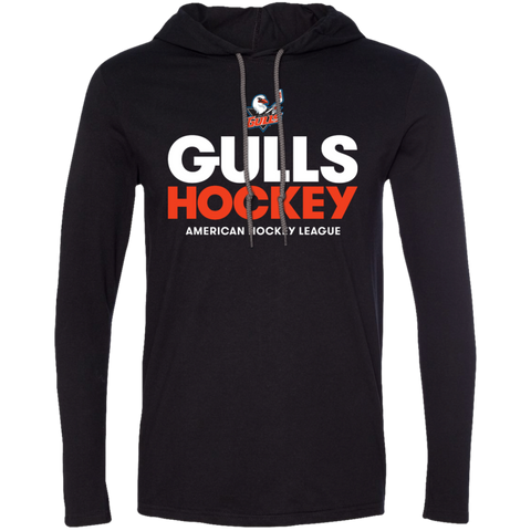 San Diego Gulls Hockey Adult Long Sleeve T-Shirt Hoodie