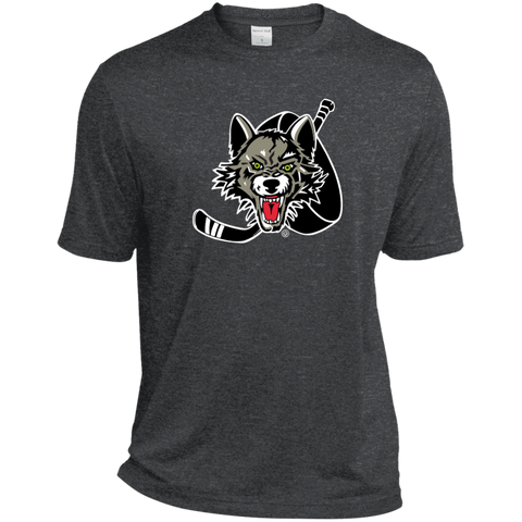 Chicago Wolves Adult Heather Dri-Fit Moisture-Wicking T-Shirt