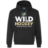 Iowa Wild Hockey Heavyweight Pullover Hoodie