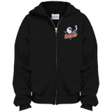 San Diego Gulls Youth Embroidered Full Zip Hoodie