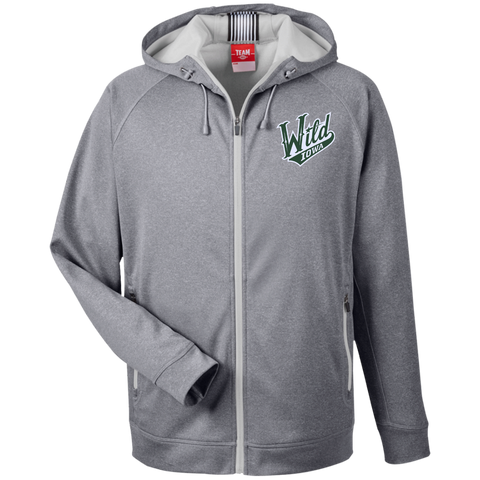 Iowa Wild Team 365 Men's Heathered Performance Hooded Jacket