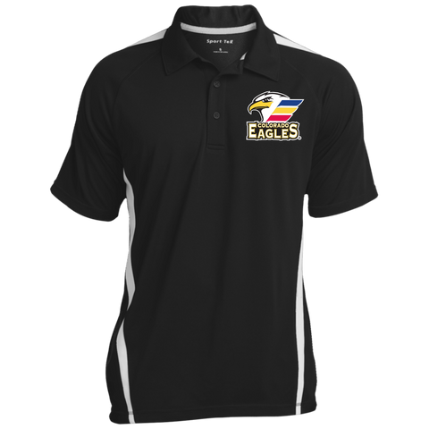 Colorado Eagles Men's Colorblock 3-Button Polo (Sidewalk Sale)