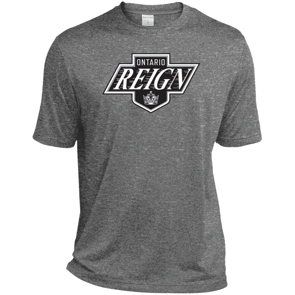 Ontario Reign Primary Logo Adult Heather Dri-Fit Moisture-Wicking T-Shirt