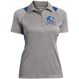 Bakersfield Condors Ladies' Heather Moisture Wicking Polo