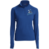 Manitoba Moose Women's 1/2 zip Performance Pullover