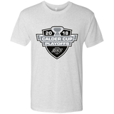 Ontario Reign Adult 2018 Calder Cup Playoffs Next Level Men's Triblend T-Shirt