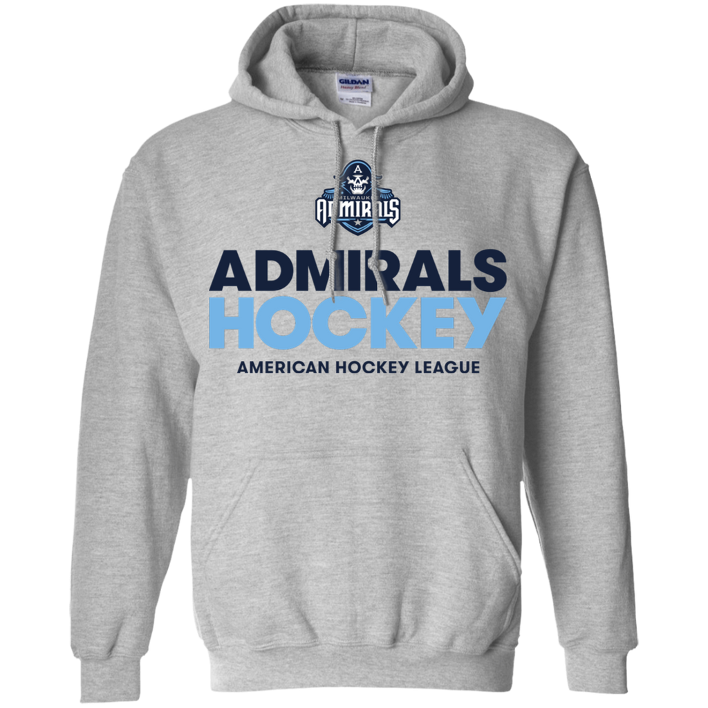 Milwaukee Admirals Hockey Logo Adult Pullover Hoodie