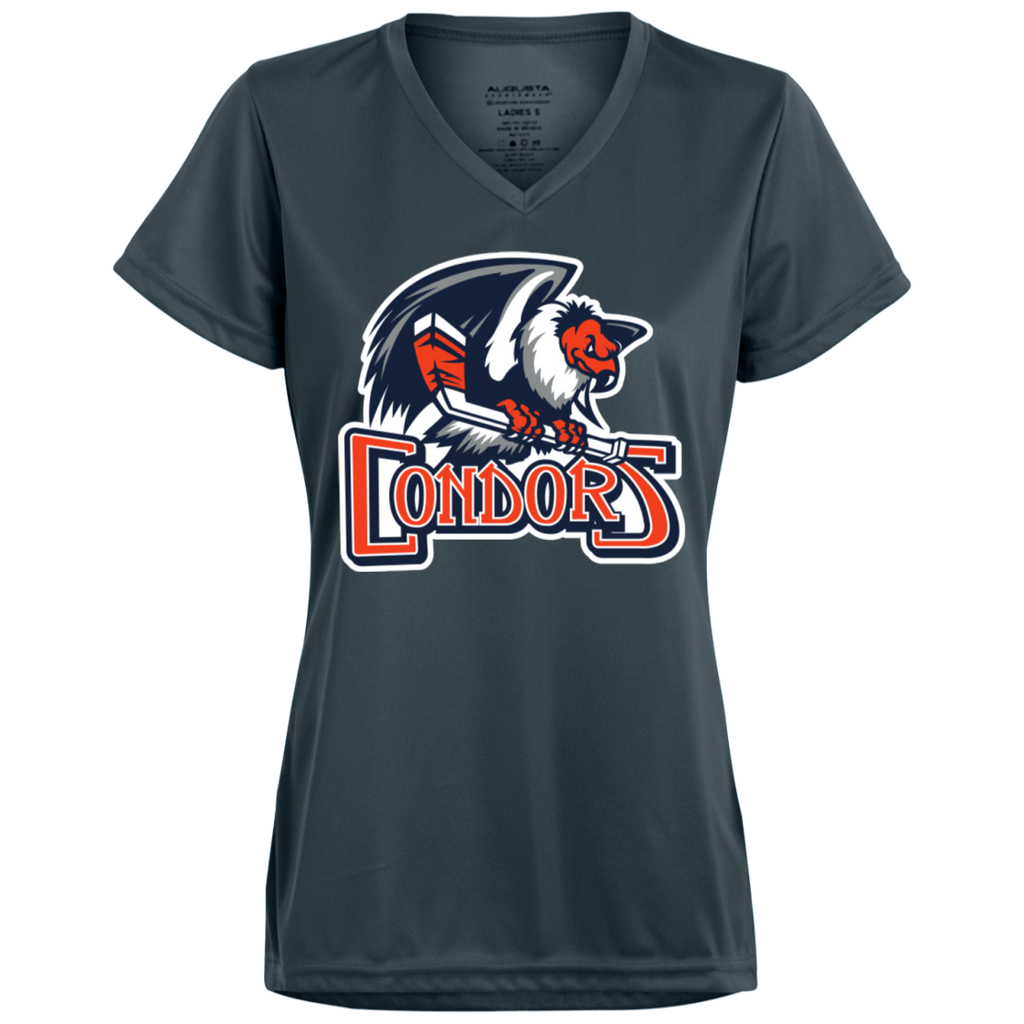 Bakersfield Condors Primary Logo Ladies' Wicking T-Shirt