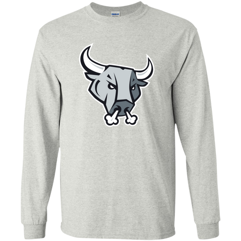 San Antonio Rampage Primary Logo Adult Long Sleeve T-Shirt