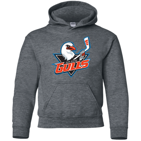 San Diego Gulls Primary Logo Youth Pullover Hoodie