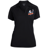 San Diego Gulls Ladies Micropique Sport-Wick Piped Polo