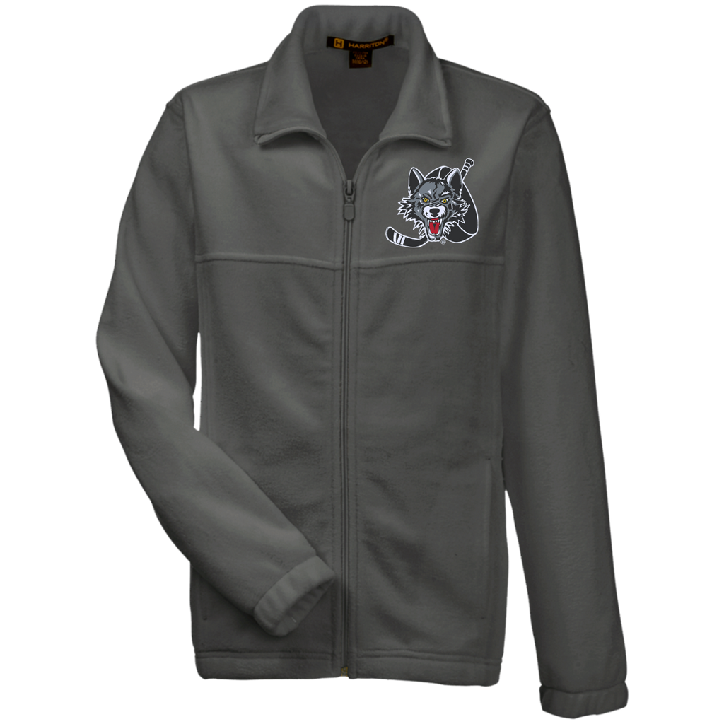 Chicago Wolves Youth Embroidered Fleece Full Zip