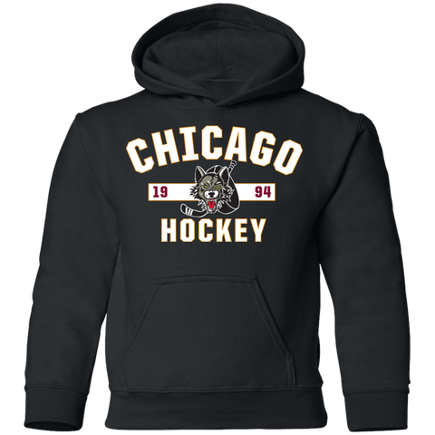 Chicago Wolves Youth Established Pullover Hoodie