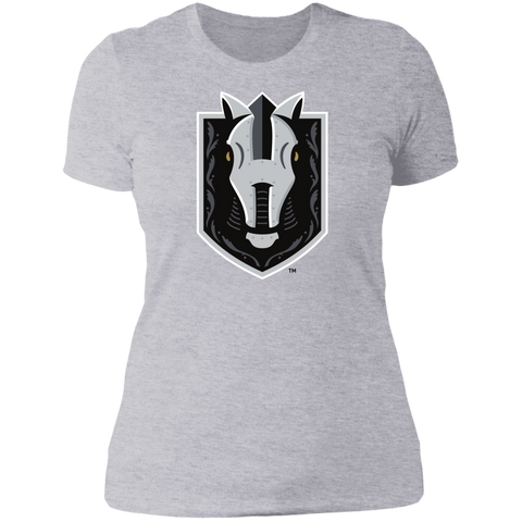 Henderson Silver Knights Next Level Ladies' Primary Logo Short Sleeve T-Shirt