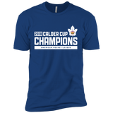 Toronto Marlies 2018 Calder Cup Champions Adult Next Level Premium Raise the Bar Short Sleeve T-Shirt