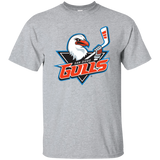 San Diego Gulls Primary Logo Adult Short Sleeve T-Shirt