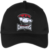 Charlotte Checkers Five Panel Twill Cap