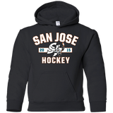San Jose Barracuda Youth Established Pullover Hoodie