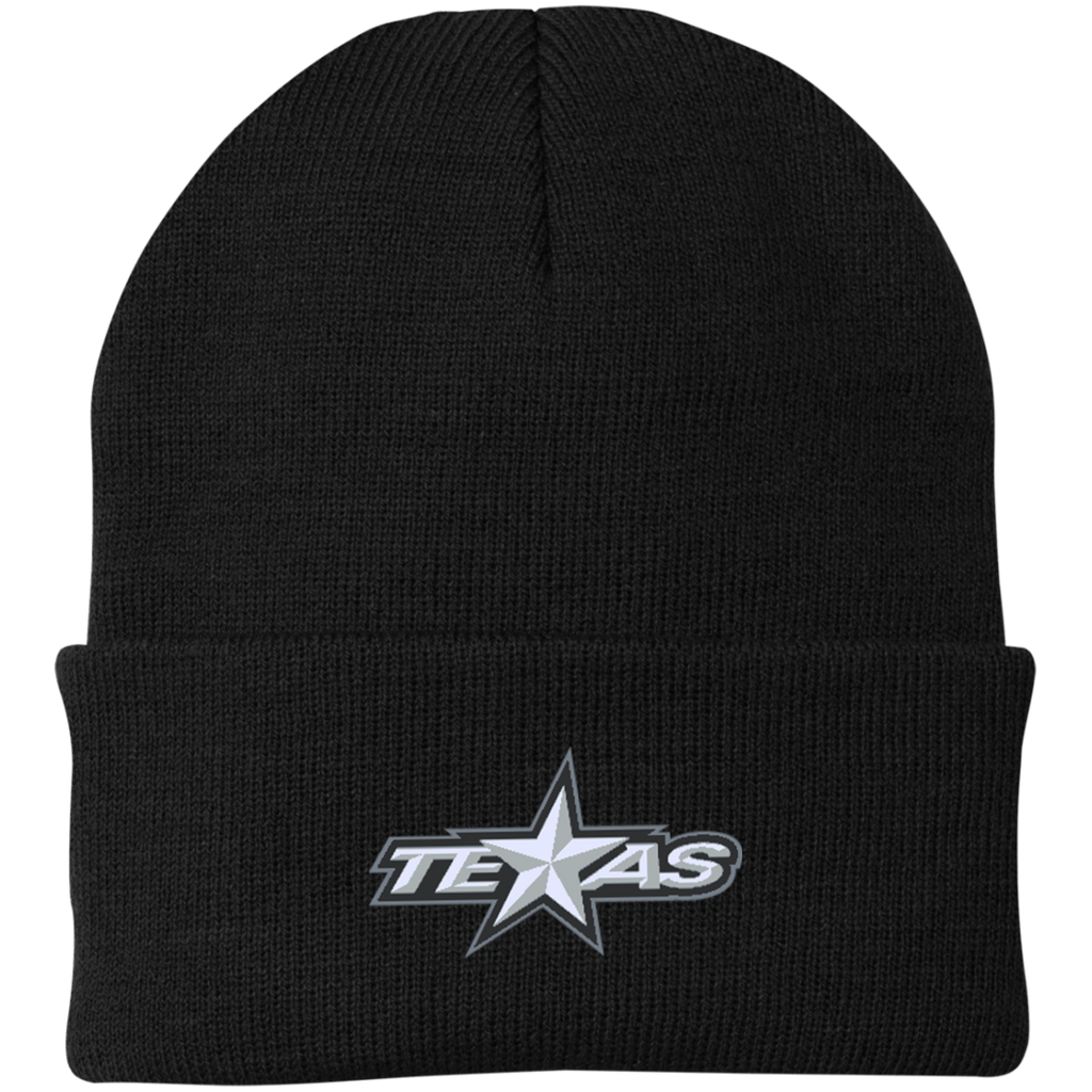 Texas Stars Knit Cap