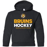 Providence Bruins Hockey Logo Youth Pullover Hoodie