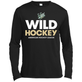 Iowa Wild Hockey Long Sleeve Moisture Absorbing T-Shirt
