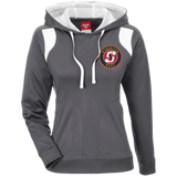 Stockton Heat Team 365 Ladies' Colorblock Poly Hoodie
