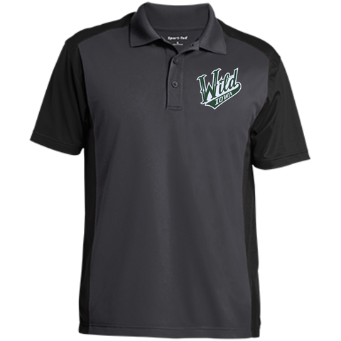 Iowa Wild Men's Colorblock Sport-Wick Polo