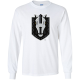 Henderson Silver Knights Primary Logo Youth Long Sleeve T-Shirt